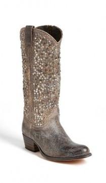 wedding photo - Frye 'Deborah' Studded Boot