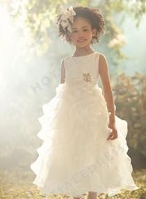wedding photo - Alfred Angelo Disney Blossoms Flower Girl Dresses Style 705