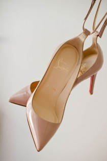 wedding photo - Nude Shoes By Christian Louboutin - Shop Now