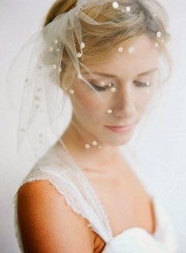 wedding photo - 10 Pretty Perfect Polka Dot Veils