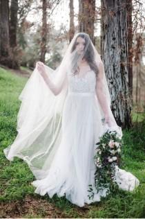 wedding photo - Woodland Bridal Shoot