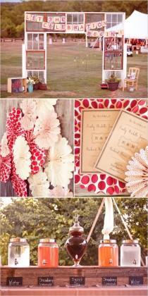 wedding photo - Vintage Anthropologie Inspired DIY Wedding