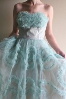 wedding photo - Vintage 1950s DREAM Dress