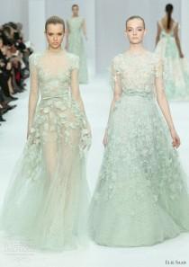 wedding photo - Elie Saab Spring 2012 Couture