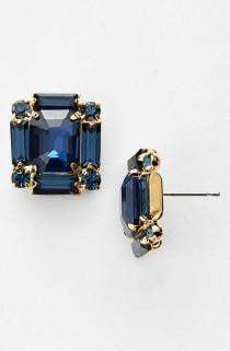wedding photo - Nordstrom Crystal Stud Earrings