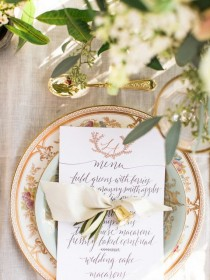wedding photo - Romantic Southern Wedding Inspiration