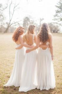 wedding photo - Bohemian Bridal Style Ideas