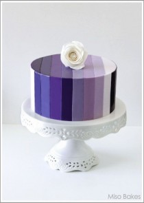 wedding photo - Ombre Cake Love