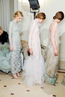 wedding photo - Backstage Valentino Couture