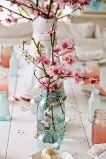 wedding photo - The Beauty Of A Cherry Blossom Wedding Theme