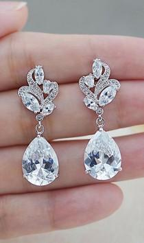 wedding photo - EarringsNation - Bridal Jewelry