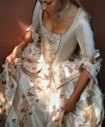 wedding photo - Eighteenth Century Style Caribbean Pirate Wedding Dress