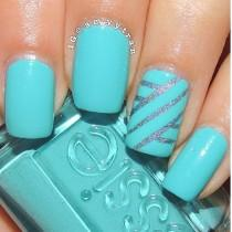 wedding photo - 17 Super Easy Nail Art Designs And Ideas For 2016