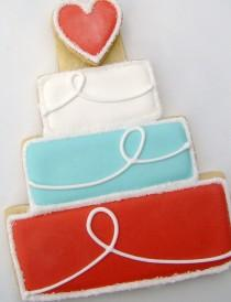 wedding photo - Decorated Sugar Cookie Envy