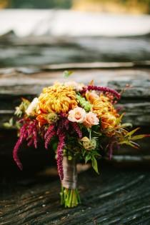 wedding photo - Romantic Fall Wedding Inspiration
