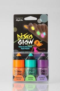 wedding photo - Disco Glow Nail Set