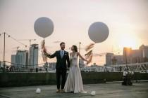 wedding photo - Colorful London Wedding At Trinity Buoy Wharf