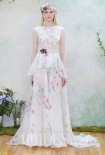wedding photo - Floral Wedding Dresses