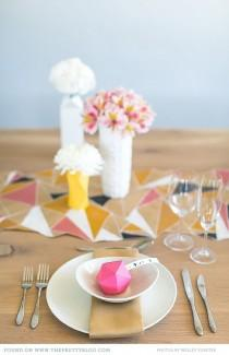 wedding photo - Colours To Preserve - Table Decor Inspiration