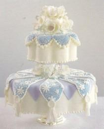 wedding photo - Wedding Cake...Touched By Time Vintage Rentals
