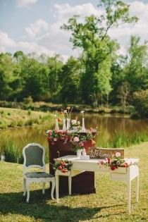 wedding photo - Louisiana Outdoor Wedding From Two Pair Photography