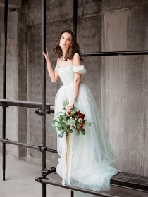 wedding photo - Can't Afford It? Get Over It! A Custom Elie Saab Inspired Gown For Under $1000