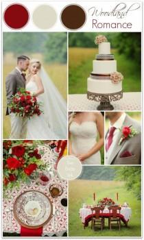 wedding photo - Fall Wedding Color Ideas  The Bride Link