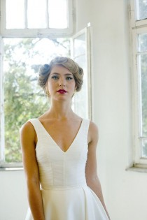 wedding photo - Custom Made Wedding Dress Bodysuit - White Bridal Bodysuit Custom Size 4-6-8-10-12-14