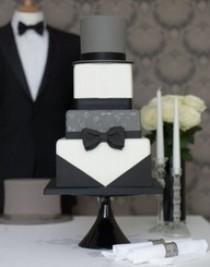 wedding photo - Classic Black & White Wedding...