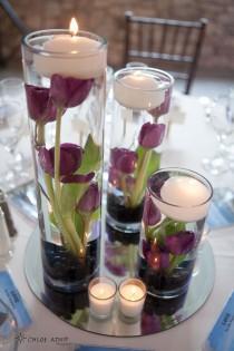 wedding photo - Decorative Wedding Floating Candle Ideas