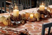 wedding photo - Autumn And Halloween Table Decor Ideas