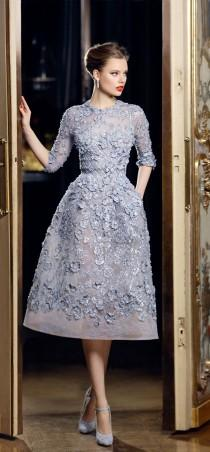 wedding photo - Elie Saab At Couture Spring 2013 (Details)