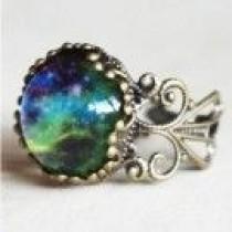 wedding photo - Princess Cut Split Shank Sparkler Engagement Ring