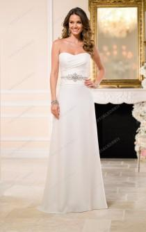 wedding photo -  Stella York A Line Wedding Dresses Style 6044