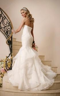 wedding photo -  Stella York Corset Wedding Dress Style 6046