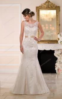 wedding photo -  Stella York Romantic Wedding Dresses Style 6055