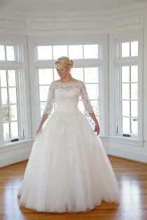 wedding photo - Evelyn Wedding Dresses, The Epoch Collection, Long Sleeves