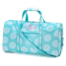 wedding photo - Monogrammed Embroidered Duffel
