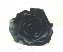 wedding photo -  Giant Black Paper Rose, Crepe paper Rose, Giant bouquet flower, Red crepe paper Rose, Fake flowers, Baby shower decor, Big Bouquet flowers