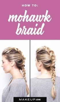 wedding photo - How to: Mohawk Braid