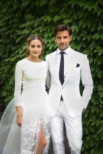 wedding photo - Olivia Palermo Is Married! See Her Stunning Carolina Herrera Wedding Dress
