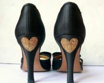 wedding photo - Stickers shoes wedding, wedding shoe sticker