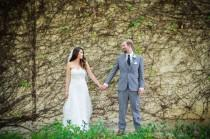 wedding photo - Gorgeous Wedding At LA River City And Gardens - The SnapKnot Blog