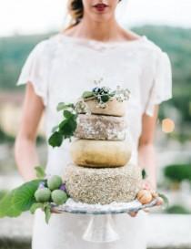 wedding photo - Trend Alert: Cheese Cakes