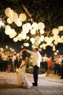 wedding photo - Lanterns & Lights