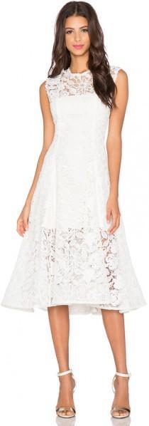 wedding photo - Alexis Derek Embroidered Dress