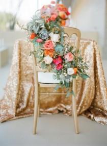 wedding photo - The 22 Sweetest Sweetheart Chairs