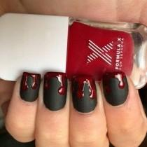 """wedding photo - 21 """"True Blood"""" Inspired Manicures That Will Bring Out Your Inner Vampire"""