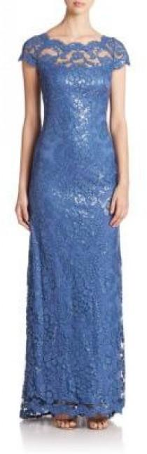 wedding photo - Tadashi Shoji Embroidered Sequin Gown