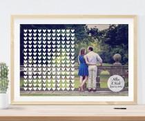 wedding photo - Photo Guest Book // Wedding Guest Book // Guest Book Idea // Guest Book Alternative // Guest Book Canvas // Wedding Guestbook // Engagement